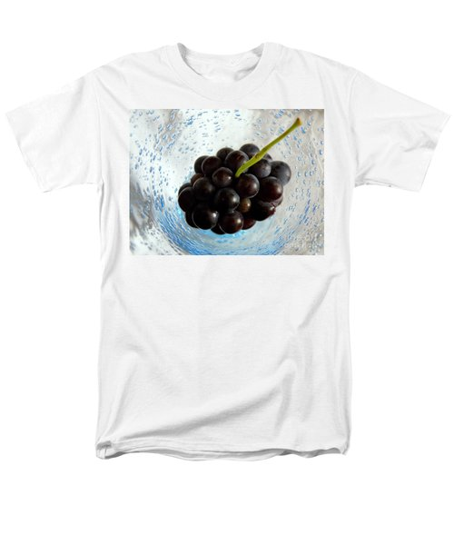 Grape Cluster In Biot Glass Men's T-Shirt  (Regular Fit) by Lainie Wrightson