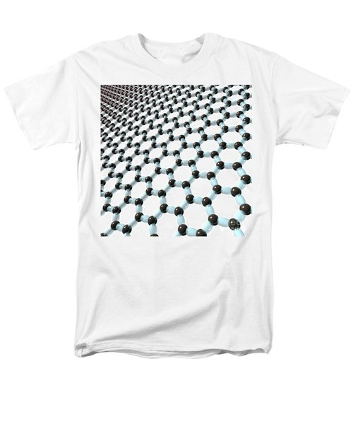 Men's T-Shirt  (Regular Fit) featuring the digital art Graphene 8 by Russell Kightley
