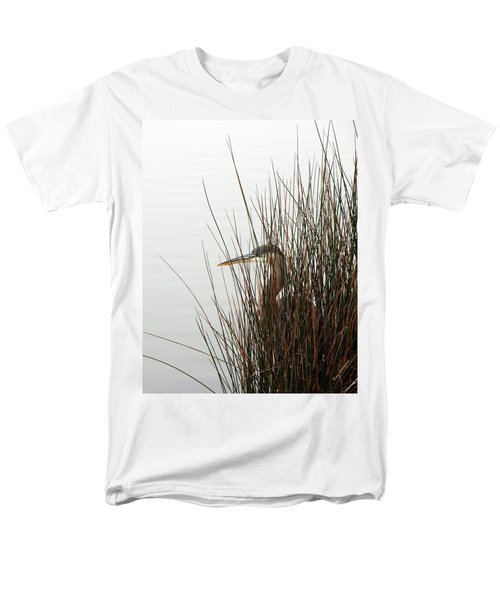 Great Blue Heron Men's T-Shirt  (Regular Fit) by Kay Lovingood