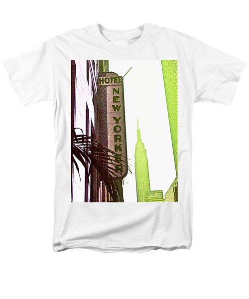 Men's T-Shirt  (Regular Fit) featuring the photograph I Love New York by Beth Saffer