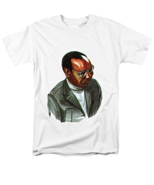 John Mbiti Men's T-Shirt  (Regular Fit) by Emmanuel Baliyanga