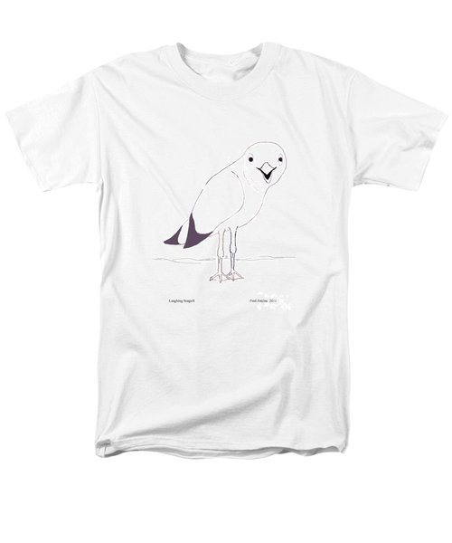 Laughing Seagull Men's T-Shirt  (Regular Fit) by Fred Jinkins