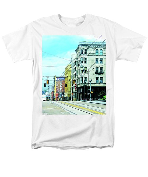 Men's T-Shirt  (Regular Fit) featuring the photograph Madison Avenue by Lizi Beard-Ward