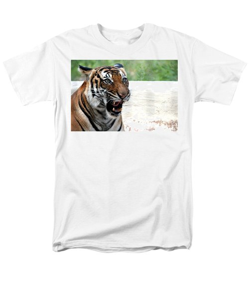 Men's T-Shirt  (Regular Fit) featuring the photograph Make My Day by Kathy  White