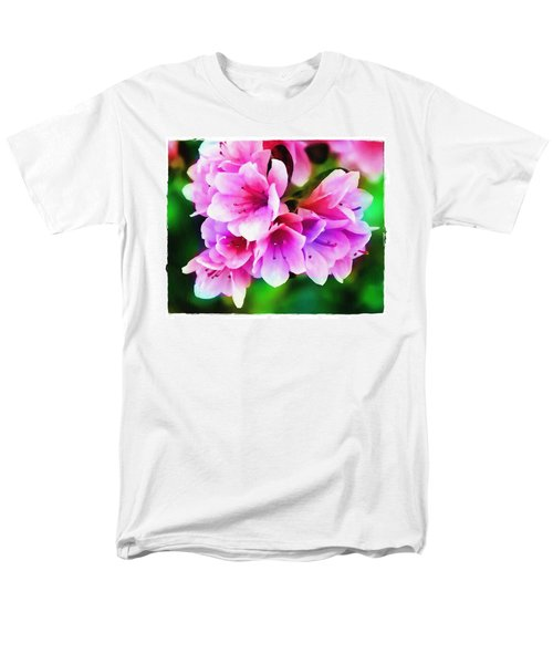 Miniature Azaleas Men's T-Shirt  (Regular Fit) by Judi Bagwell