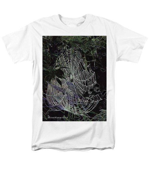 Men's T-Shirt  (Regular Fit) featuring the photograph Night Lines by EricaMaxine  Price
