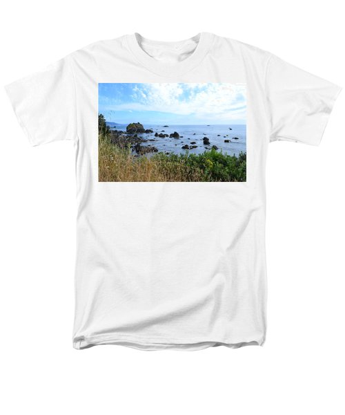 Northern California Coast2 Men's T-Shirt  (Regular Fit) by Zawhaus Photography