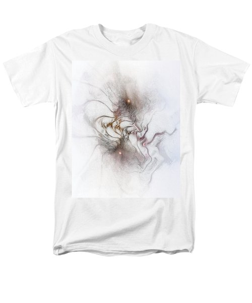 Men's T-Shirt  (Regular Fit) featuring the digital art Nuanced by Casey Kotas