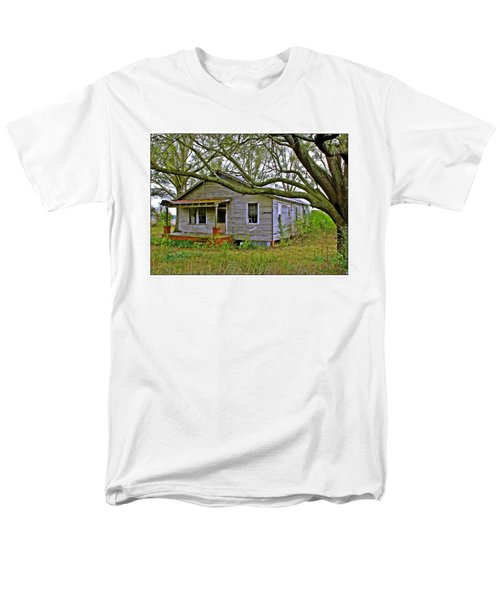 Old Gray House Men's T-Shirt  (Regular Fit) by Judi Bagwell