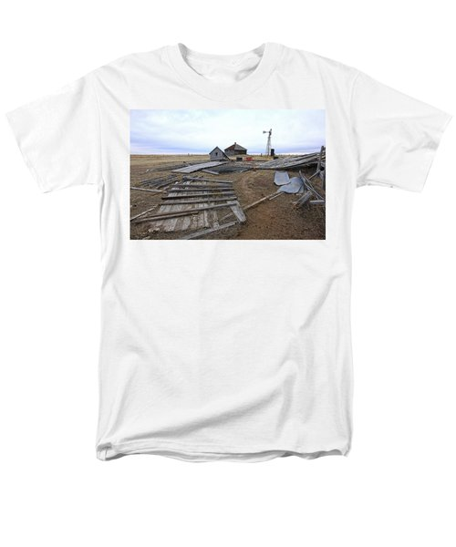 Once There Was A Farm Men's T-Shirt  (Regular Fit) by James Steele