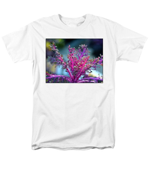 Ornamental Cabbage Men's T-Shirt  (Regular Fit) by Judi Bagwell