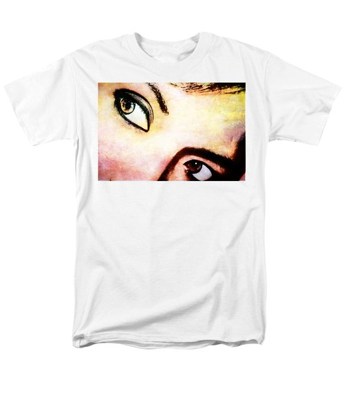 Men's T-Shirt  (Regular Fit) featuring the photograph Passionate Eyes by Ester  Rogers