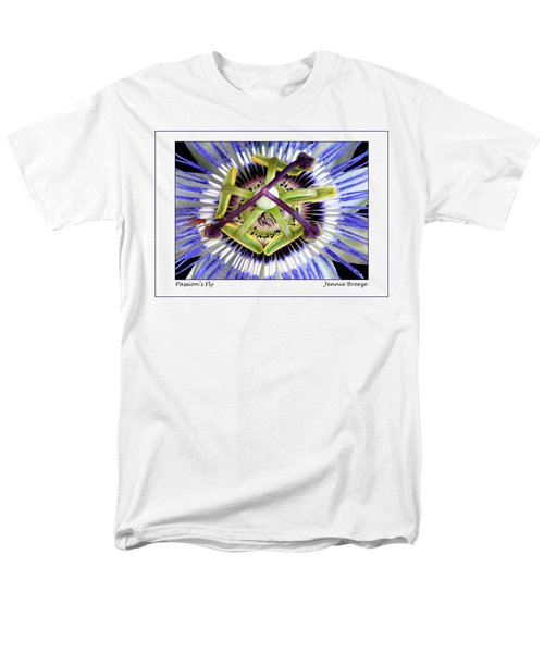 Men's T-Shirt  (Regular Fit) featuring the photograph Passion's Fly by Jennie Breeze