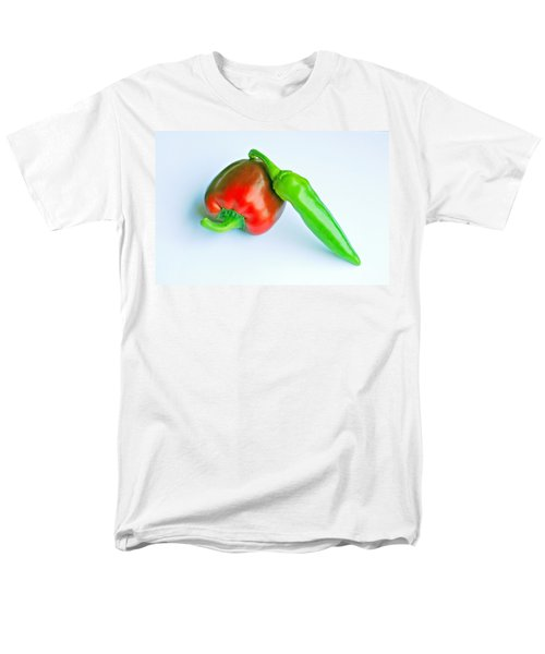 Men's T-Shirt  (Regular Fit) featuring the photograph Peppers by Lisa Phillips