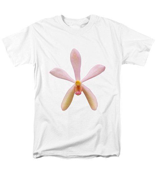 Pink Orchid Head Men's T-Shirt  (Regular Fit) by Atiketta Sangasaeng