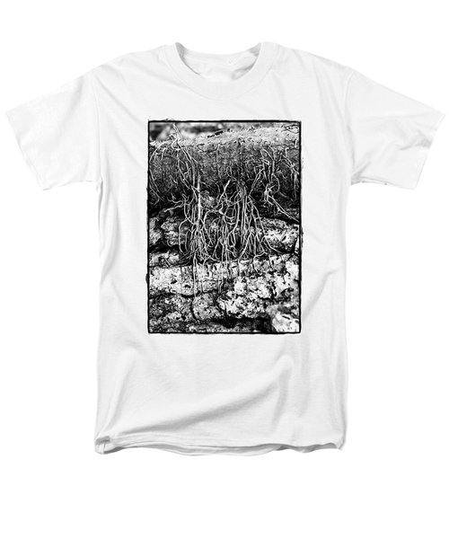 Poison Ivy Roots Men's T-Shirt  (Regular Fit) by Judi Bagwell
