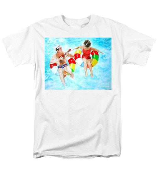 Pool Men's T-Shirt  (Regular Fit) by Beth Saffer