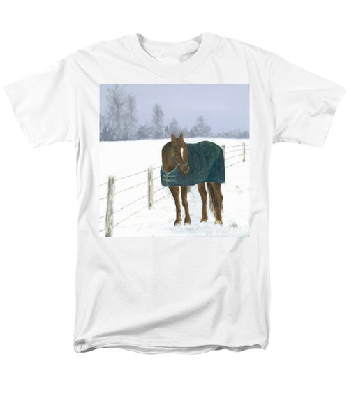Men's T-Shirt  (Regular Fit) featuring the painting Prince by Laurel Best