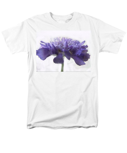 Men's T-Shirt  (Regular Fit) featuring the photograph Purple Pincushin by Debbie Portwood