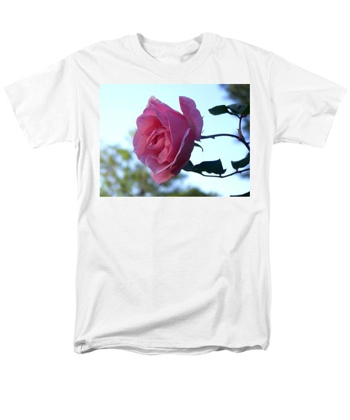 Men's T-Shirt  (Regular Fit) featuring the photograph Reaching For Sunlight by Kathy  White