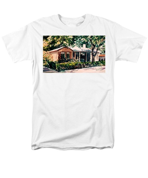 Men's T-Shirt  (Regular Fit) featuring the painting Redwood City #4 by Donald Maier