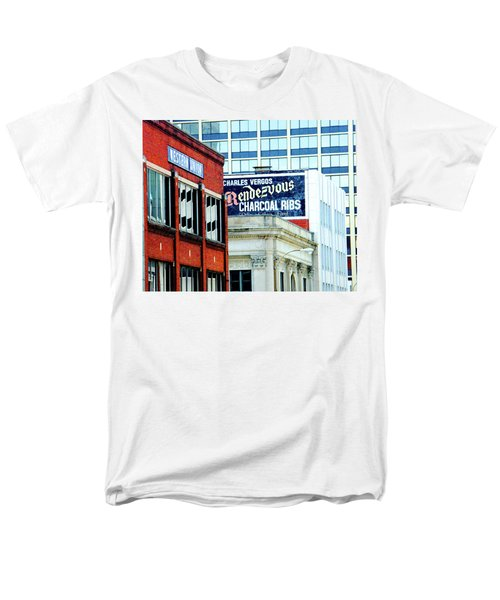 Men's T-Shirt  (Regular Fit) featuring the photograph Rendezvous by Lizi Beard-Ward