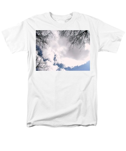 Men's T-Shirt  (Regular Fit) featuring the photograph River In The Sky by Pamela Hyde Wilson