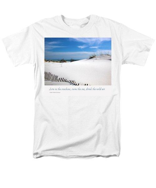 Sand Dunes Dream 3 Men's T-Shirt  (Regular Fit) by Marie Hicks