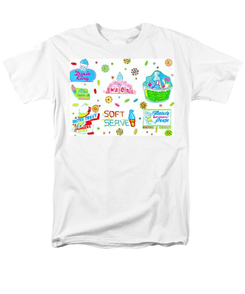 Men's T-Shirt  (Regular Fit) featuring the painting Soft Serve by Beth Saffer