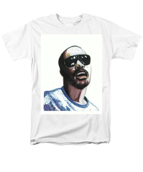 Stevie Wonder Men's T-Shirt  (Regular Fit) by Emmanuel Baliyanga