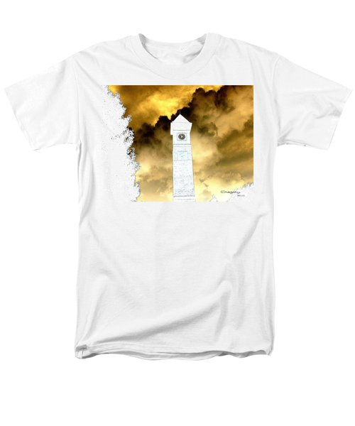 Men's T-Shirt  (Regular Fit) featuring the photograph Storm Clouds by Greg Moores