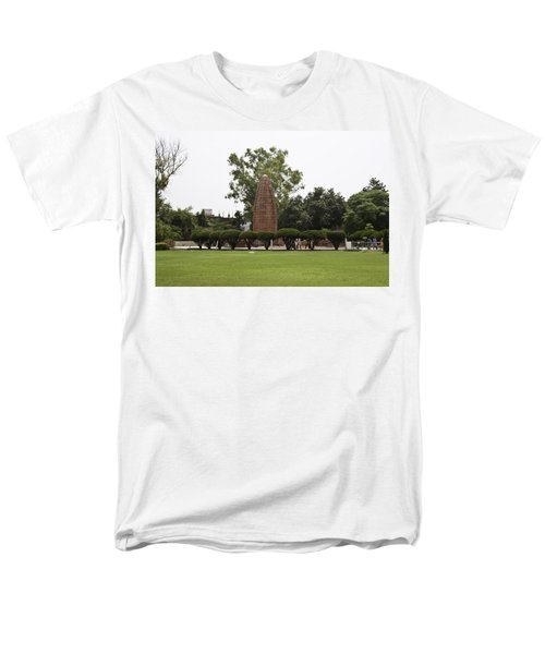 Men's T-Shirt  (Regular Fit) featuring the photograph The Jallianwala Bagh Memorial In Amritsar by Ashish Agarwal