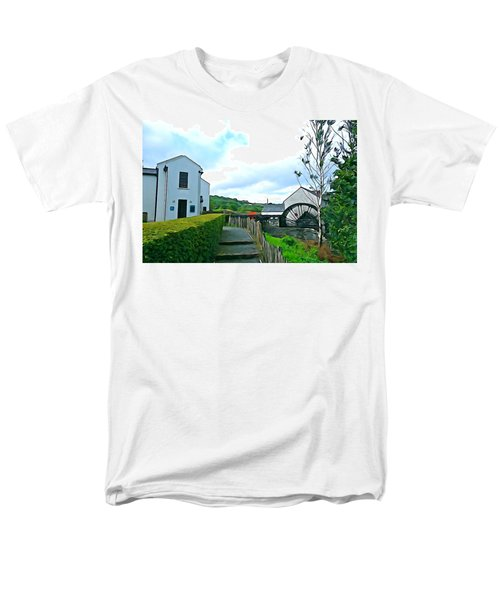 Men's T-Shirt  (Regular Fit) featuring the photograph The Mill by Charlie and Norma Brock