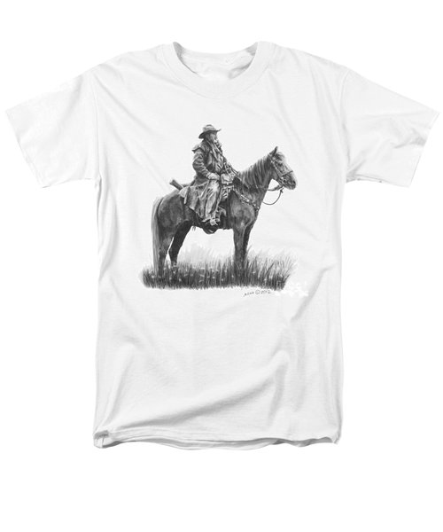 Men's T-Shirt  (Regular Fit) featuring the drawing the Quest by Marianne NANA Betts