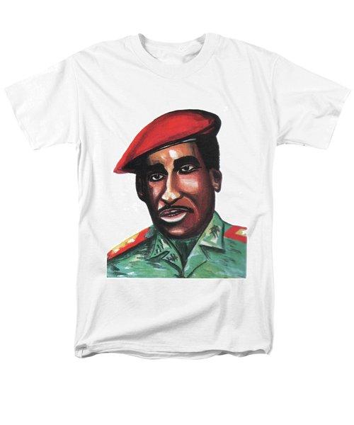 Thomas Sankara Men's T-Shirt  (Regular Fit) by Emmanuel Baliyanga