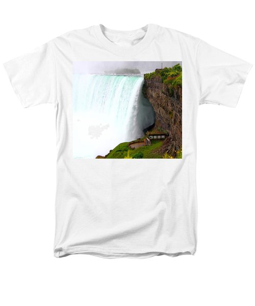 Men's T-Shirt  (Regular Fit) featuring the photograph Thundering Force by Davandra Cribbie