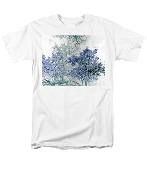 Trees Above Men's T-Shirt  (Regular Fit) by Rebecca Margraf