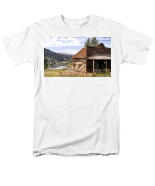 Vc Backyard Men's T-Shirt  (Regular Fit) by Susan Kinney