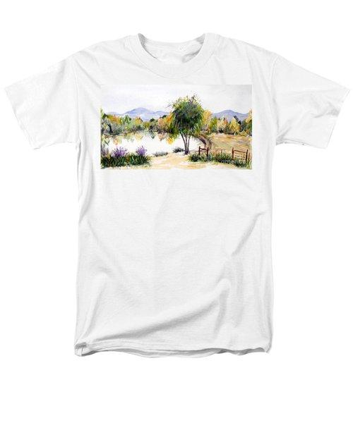 View Outside Reno Men's T-Shirt  (Regular Fit) by Vicki  Housel