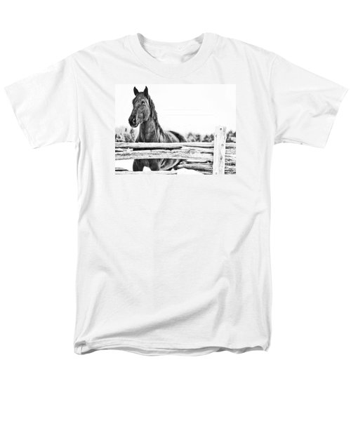 Watching Close Men's T-Shirt  (Regular Fit) by Traci Cottingham