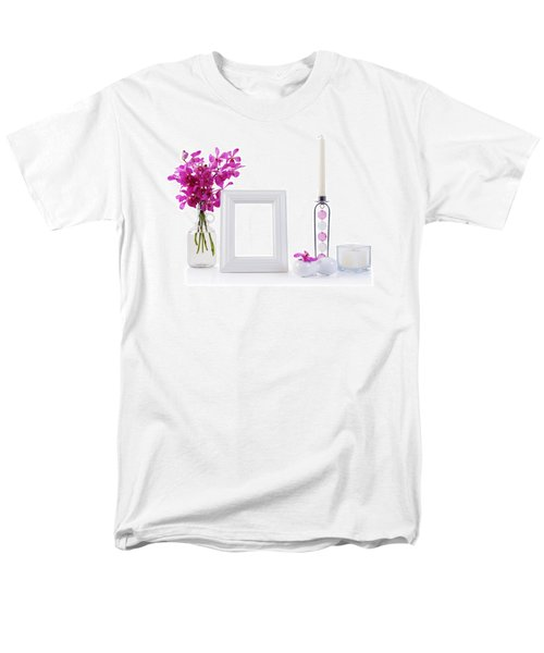 White Picture Frame In Decoration Men's T-Shirt  (Regular Fit) by Atiketta Sangasaeng
