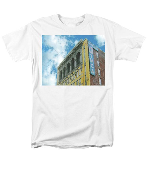 Men's T-Shirt  (Regular Fit) featuring the photograph Ymca by Lizi Beard-Ward