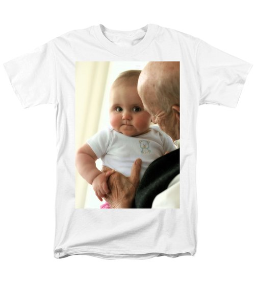 Young And Old Men's T-Shirt  (Regular Fit) by Angela Rath