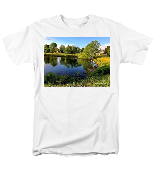 Men's T-Shirt  (Regular Fit) featuring the photograph  Cypress Creek - No.430 by Joe Finney