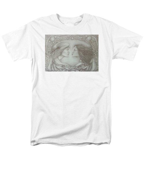 Spring Lovers With Snowdrops Men's T-Shirt  (Regular Fit) by Rita Fetisov