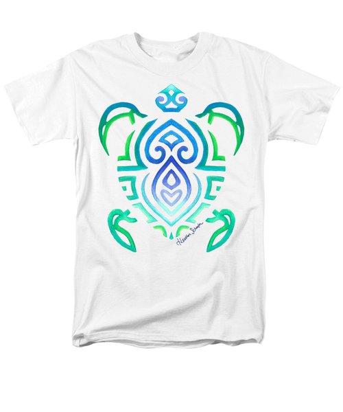 Tribal Turtle Men's T-Shirt  (Regular Fit)