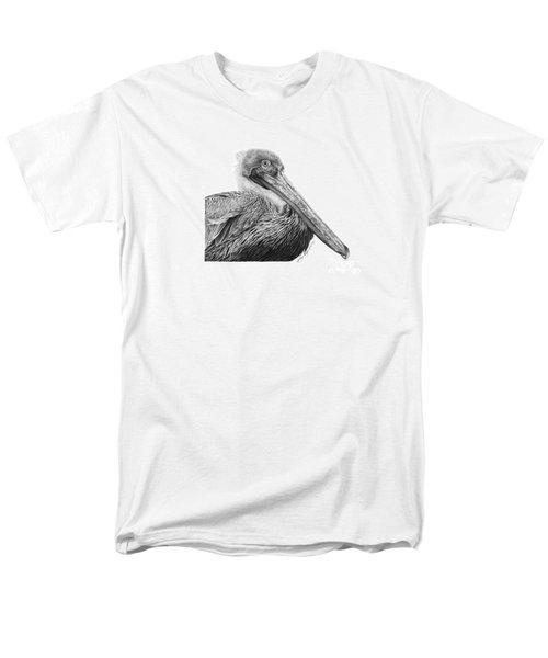 047 - Sinbad The Pelican Men's T-Shirt  (Regular Fit) by Abbey Noelle