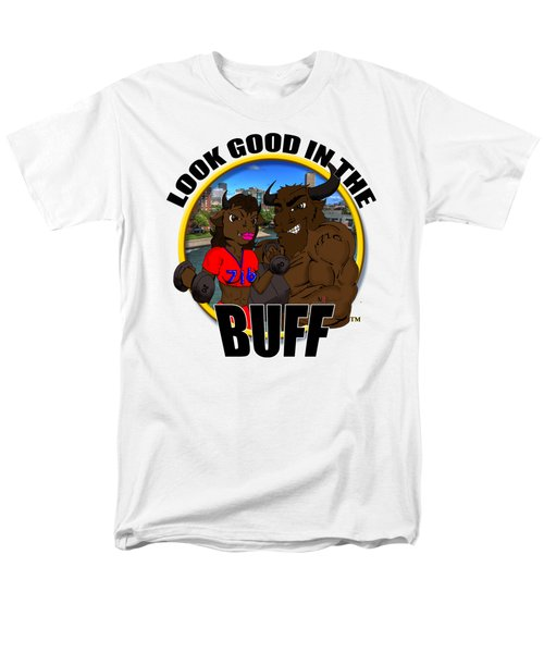 05 Look Good In The Buff Men's T-Shirt  (Regular Fit) by Michael Frank Jr