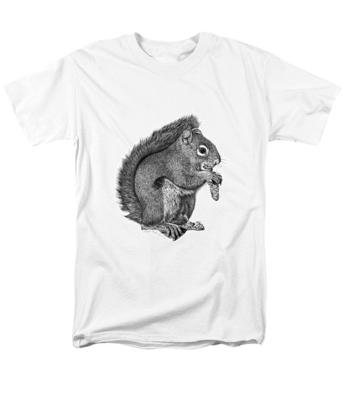 058 Sweeney The Squirrel Men's T-Shirt  (Regular Fit) by Abbey Noelle