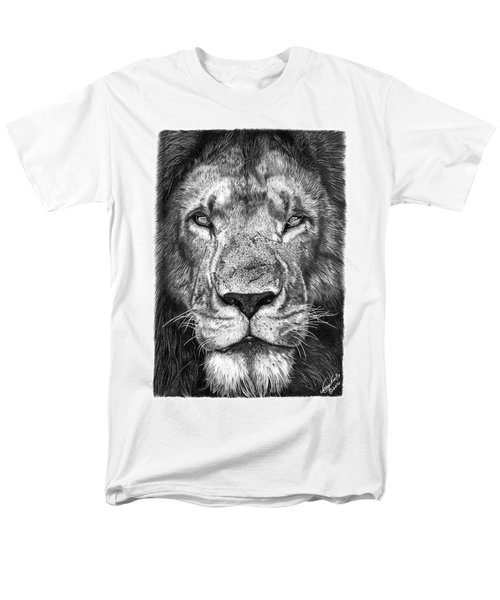 059 - Lorien The Lion Men's T-Shirt  (Regular Fit) by Abbey Noelle